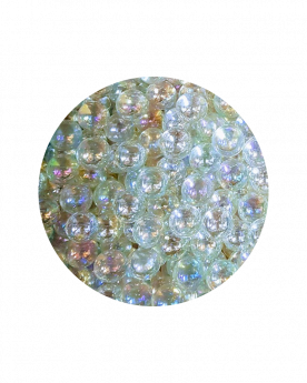 1 Little Marble Cristal-Irisé14 mm Glass Marbles