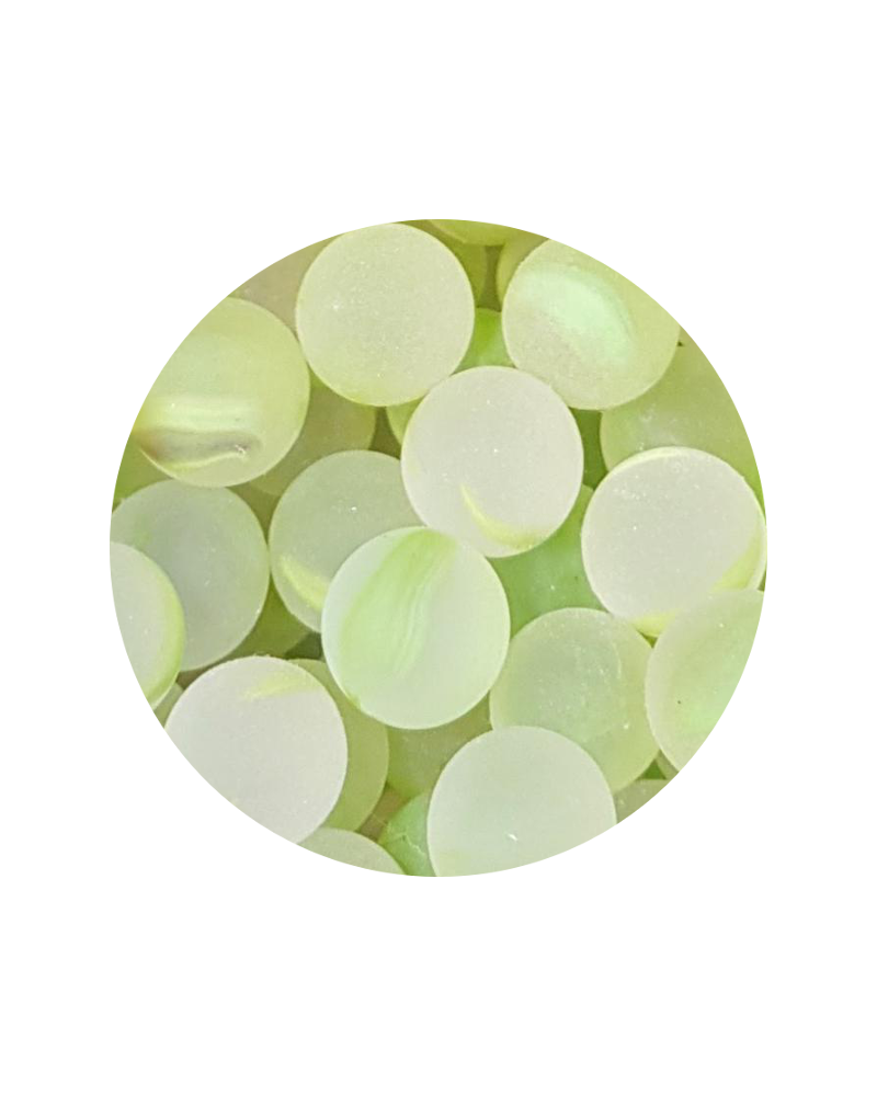 1 Little Marble Frosted Green 14 mm Glass Marbles
