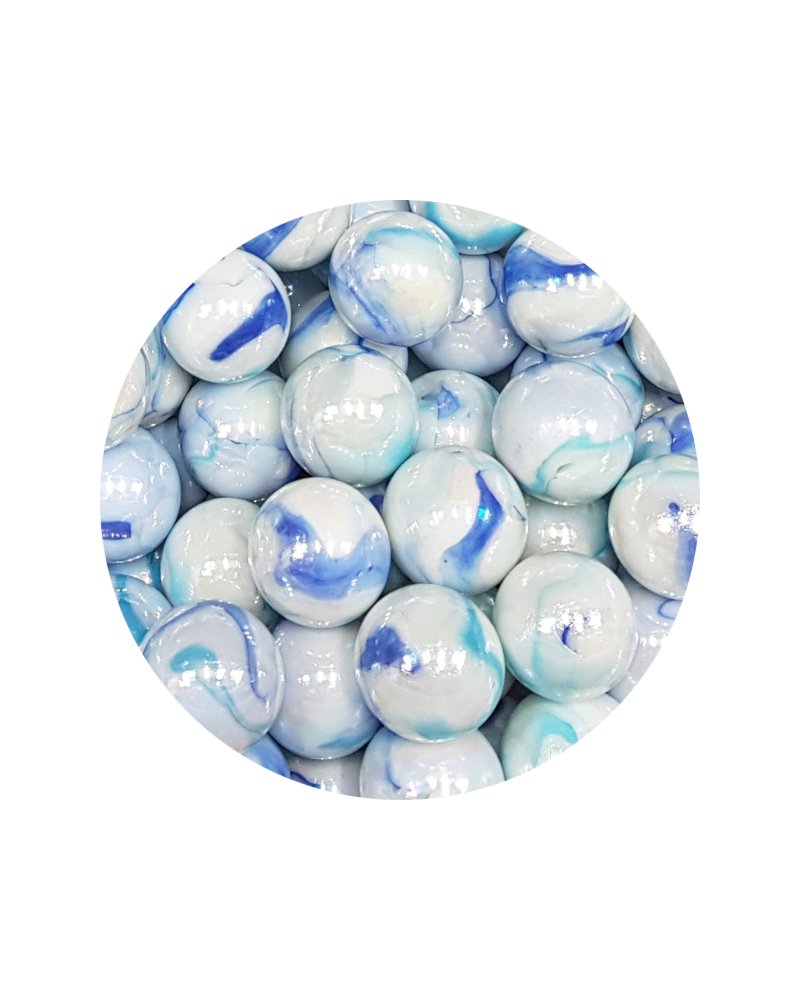 1 big Marble Tigre-Intense  20 mm Glass Marbles