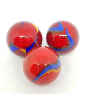 1 Shooter Marble Fiesta 25 mm Glass Marbles
