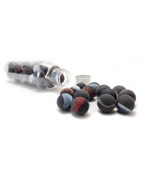 1 Marble Mercure 16 mm Glass Marbles