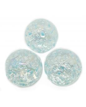 1 big Marble Blue Nugget 20 mm Glass Marbles