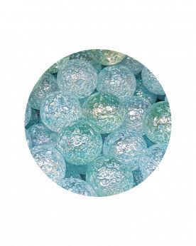 1 Large Marble Blue Nugget 35 mm Glass Marbles