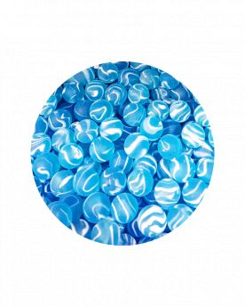 1 Large MarbleCygnus 35 mm Glass Marbles