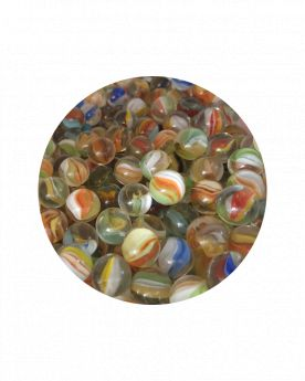 1 Large Marble Oeil-de-Chat 35 mm Glass Marbles