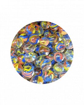 1 Marble Parrot 16 mm Glass Marbles