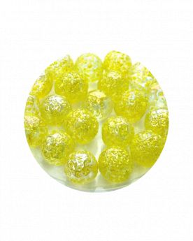 1 Little Marble Pépite-Jaune 14 mm Glass Marbles