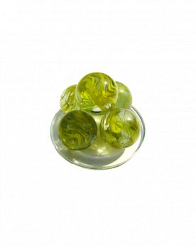 1 Giant Marble Ribbon 50 mm Glass Marbles