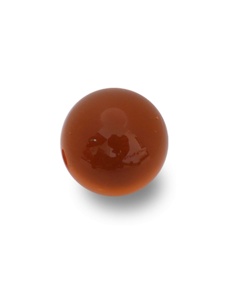 1 Giant Marble Mégalodon Ambre 60 mm Glass Marbles