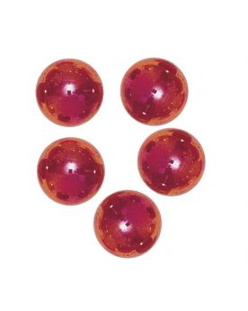 1 big Marble Rouge-Irisé-Loupe  20 mm Glass Marbles