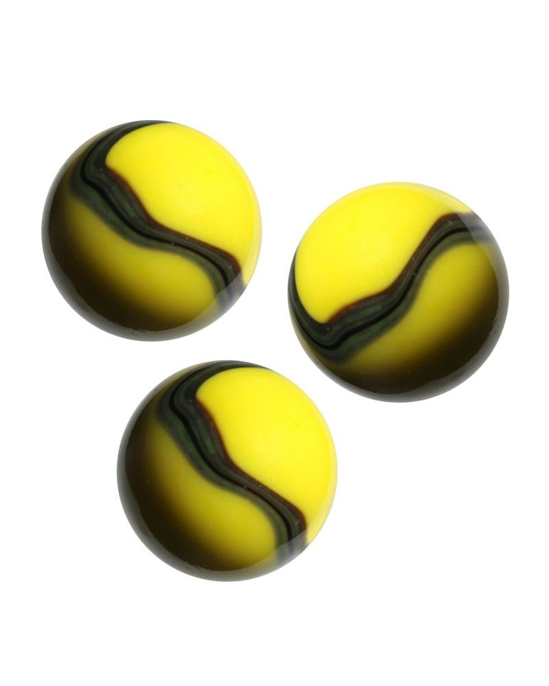 1 big Marble Bee  20 mm Glass Marbles