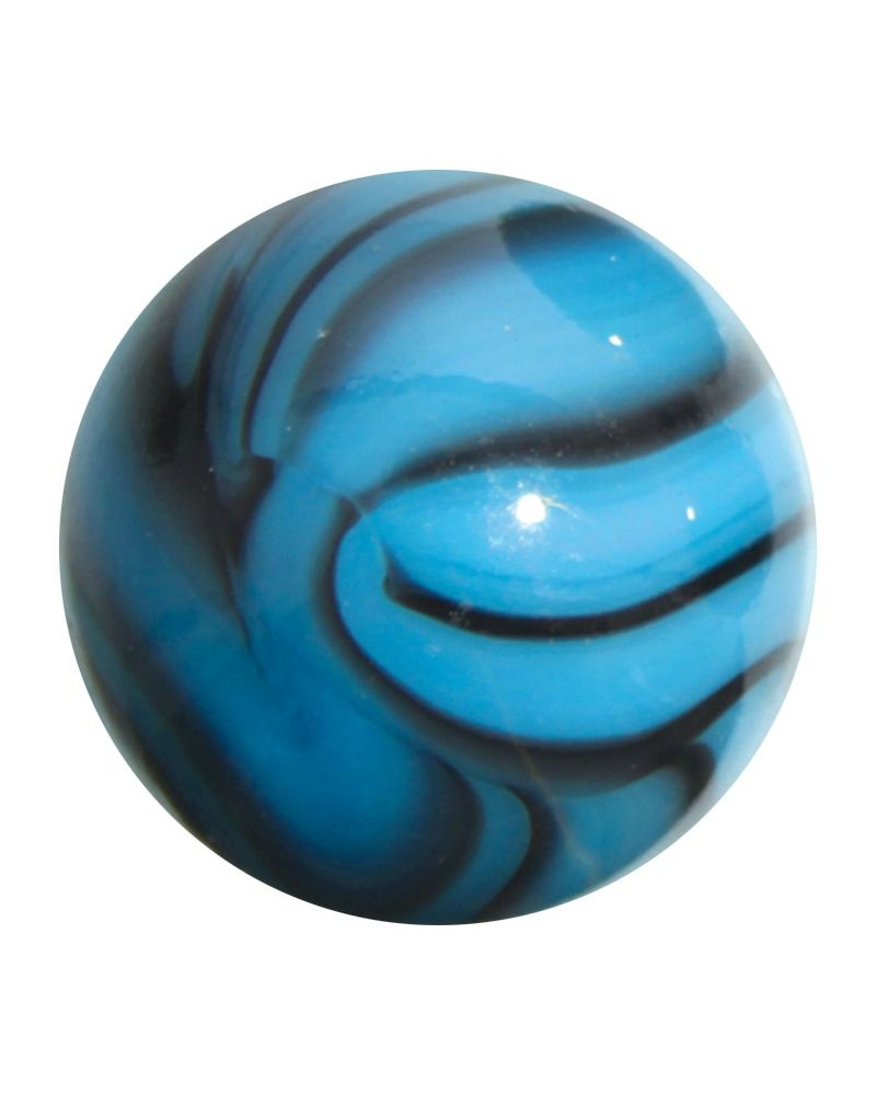 1 Shooter Marble Turquoise25 mm Glass Marbles