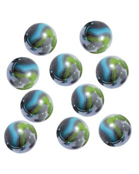 1 Shooter Marble Storm 25 mm Glass Marbles