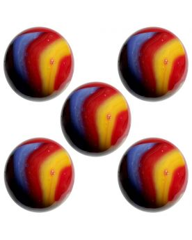 1 big Marble Fiesta  20 mm Glass Marbles