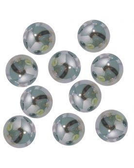 1 big Marble Gris-Bleu  20 mm Glass Marbles