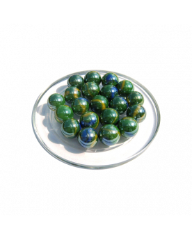 MyGlassMarbles - 25 Marbles Gloster - Glass Marble 16 mm by My GlassMarble