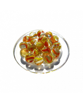 MyGlassMarbles - 25 Marbles Condor - Glass Marble 16 mm by My GlassMarble