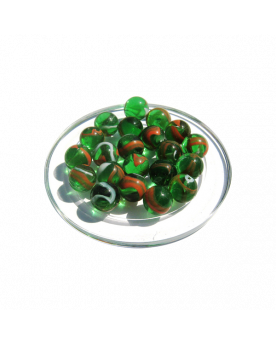 MyGlassMarbles - 25 Marbles Croco - Glass Marble 16 mm by My GlassMarble