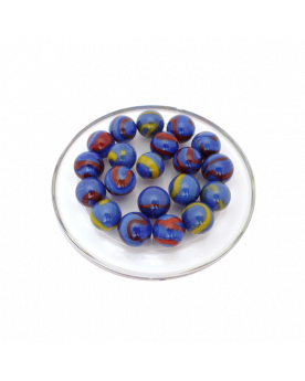 MyGlassMarbles - 25 Marbles Dino - Glass Marble 16 mm by My GlassMarble