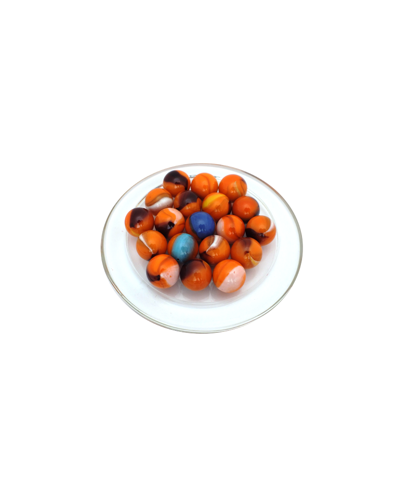 MyGlassMarbles - 25 Marbles Lautrec - Glass Marble 16 mm by My GlassMarble