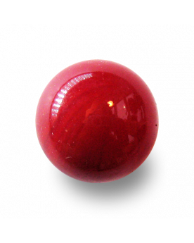 MyGlassMarbles - 4 Big Marble Glossy Red - Glass Marbles 25 mm by My GlassMarble