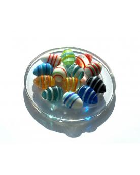 MyGlassMarbles - 15 Marbles Egg Colour - Glass Marble 16 mm by My GlassMarble