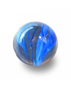 MyGlassMarbles - 4 Big Marble Color Tornado - Glass Marbles 25 mm by My GlassMarble