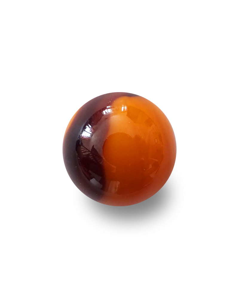 MyGlassMarbles - 4 Big Marble Lautrec - Glass Marbles 25 mm by My GlassMarble
