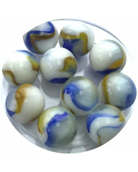 MyGlassMarbles - 4 Big Marble Ice pack - Glass Marbles 25 mm by My GlassMarble