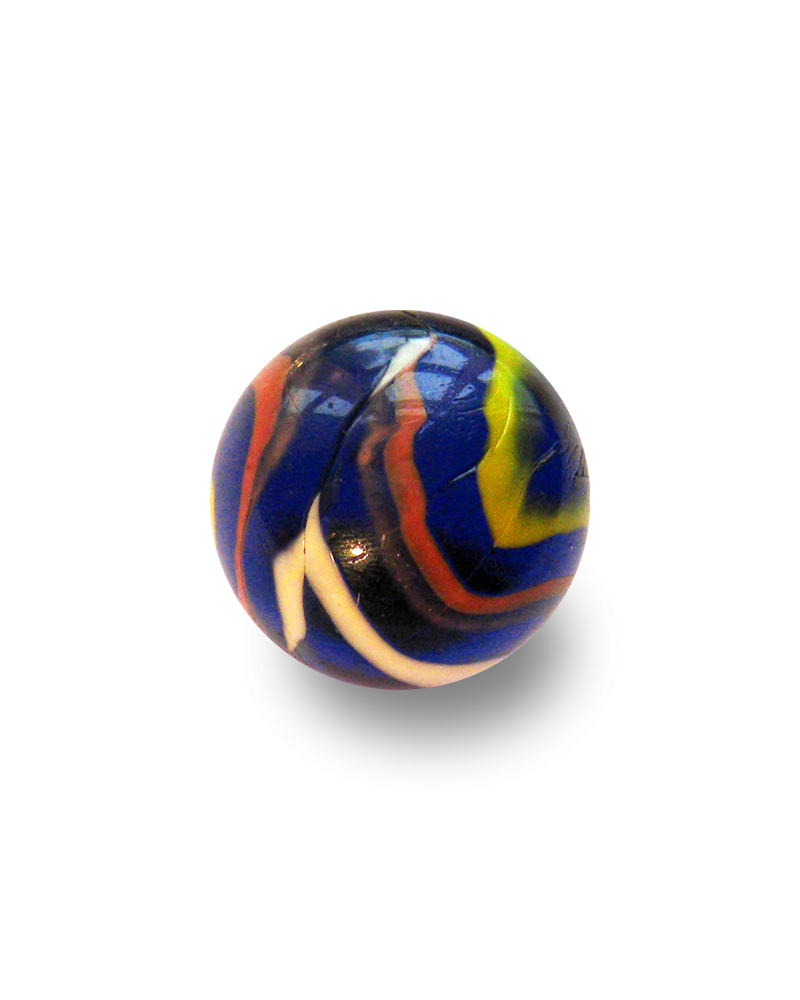 MyGlassMarbles - 2 Big Marbles Michel Ange - Glass Marble 35 mm by My GlassMarble