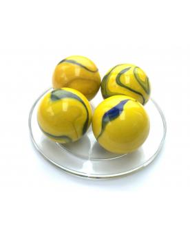 MyGlassMarbles - 2 Very Large Marbles Gauguin - Glass Marble 43 mm by My GlassMarble