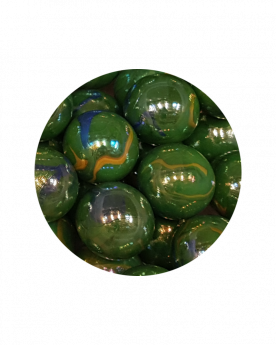 MyGlassMarbles - 2 Very Large Marbles Gloster - Glass Marble 43 mm by My GlassMarble