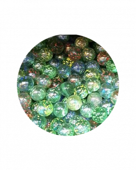 MyGlassMarbles - 30 Marbles Nugget Color 14 mm GlassMarble by My GlassMarble