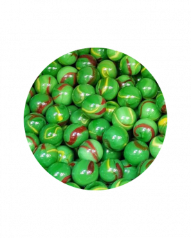 MyGlassMarbles - 30 Marbles Jungle 14 mm GlassMarble by My GlassMarble