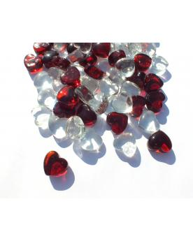 55 Heart Glass Marble - SOLIDAIRE