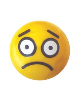 1 glass marble the sad Smily - 25 mm glass marble