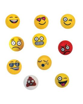 1 glass marble Smiley laughs - 25 mm glass marble