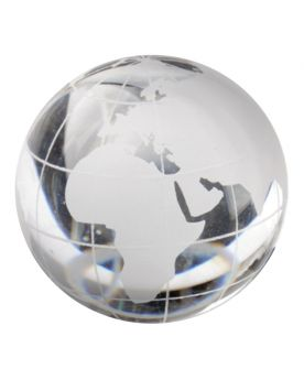 1 Marble WorldMap Cristal 40 mm Glass Marbles