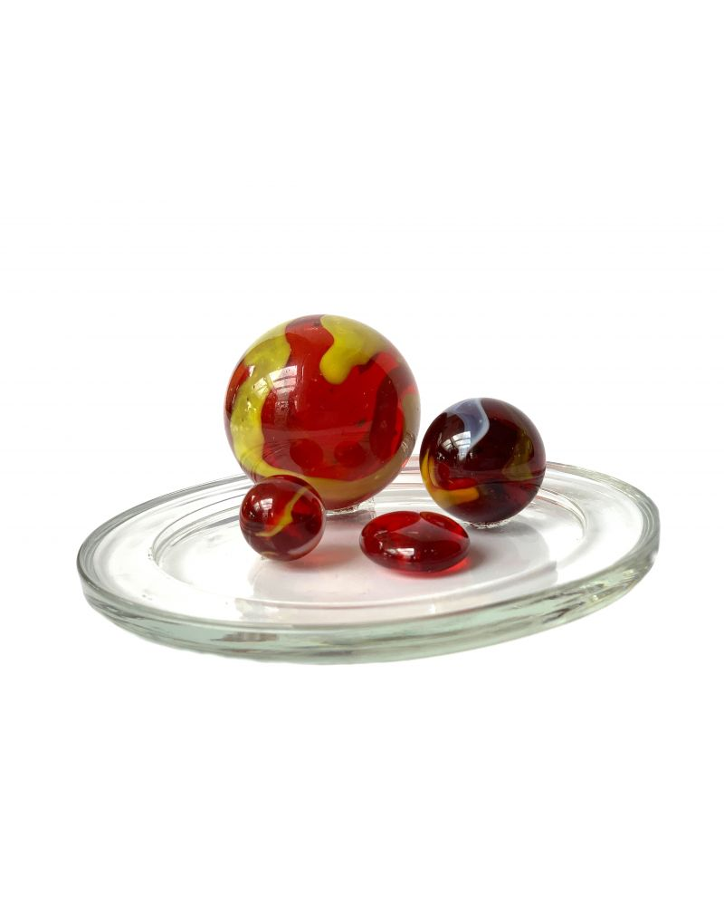 1 Family Glass Marbles Clown - MyGlassMarbles
