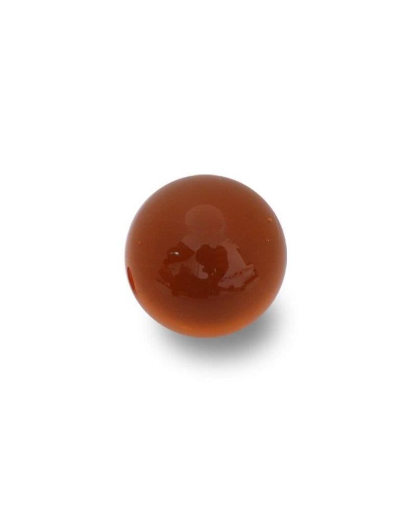 1 Giant Marble Golem Ambre 80 mm Glass Marbles