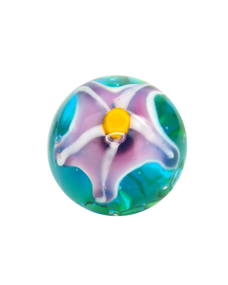 1 marble of the stars - Marble 16 mm by My Glass Marbles