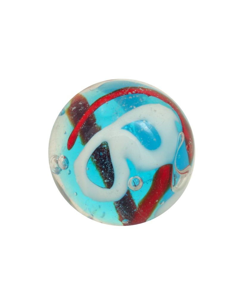 1 Blue Creative Glass Marble 16 mm