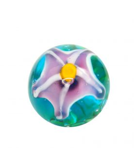 1 marble of the stars - Marble 20 mm by My Glass Marbles