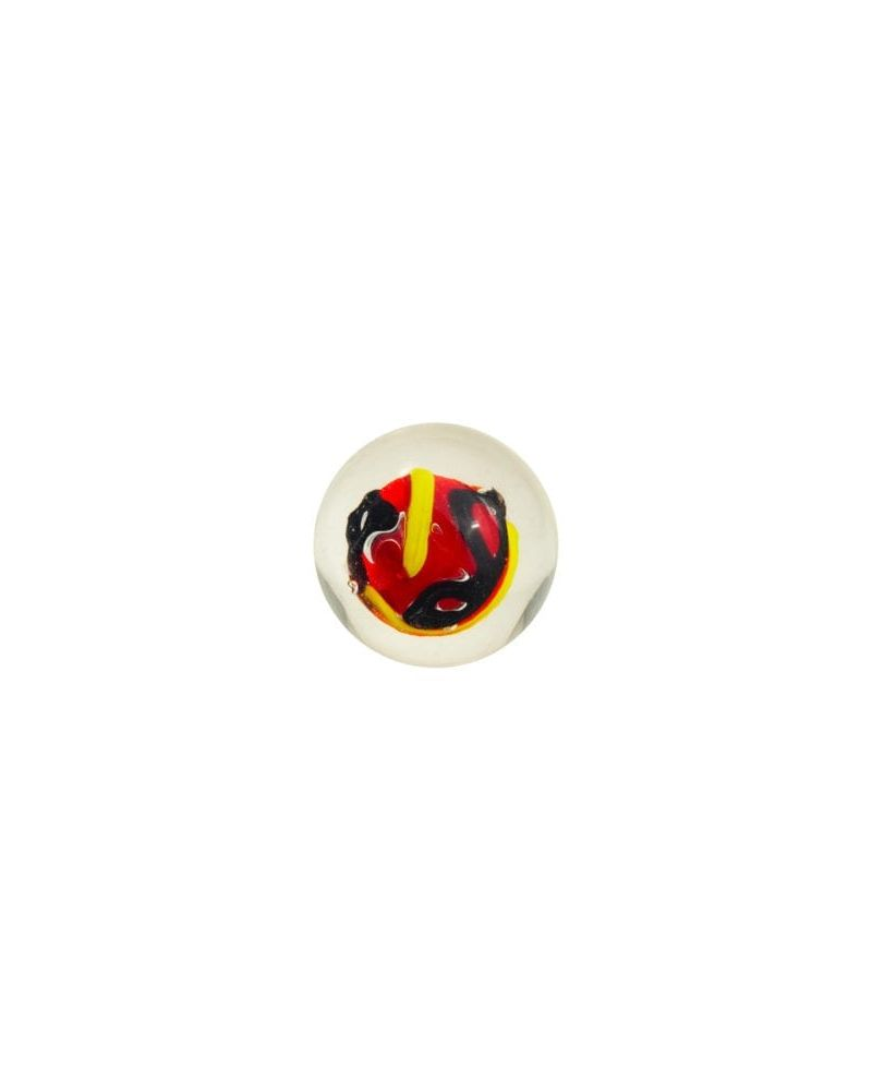 1 marble Creative Madness Red - Marble 20 mm by My Glass Marbles