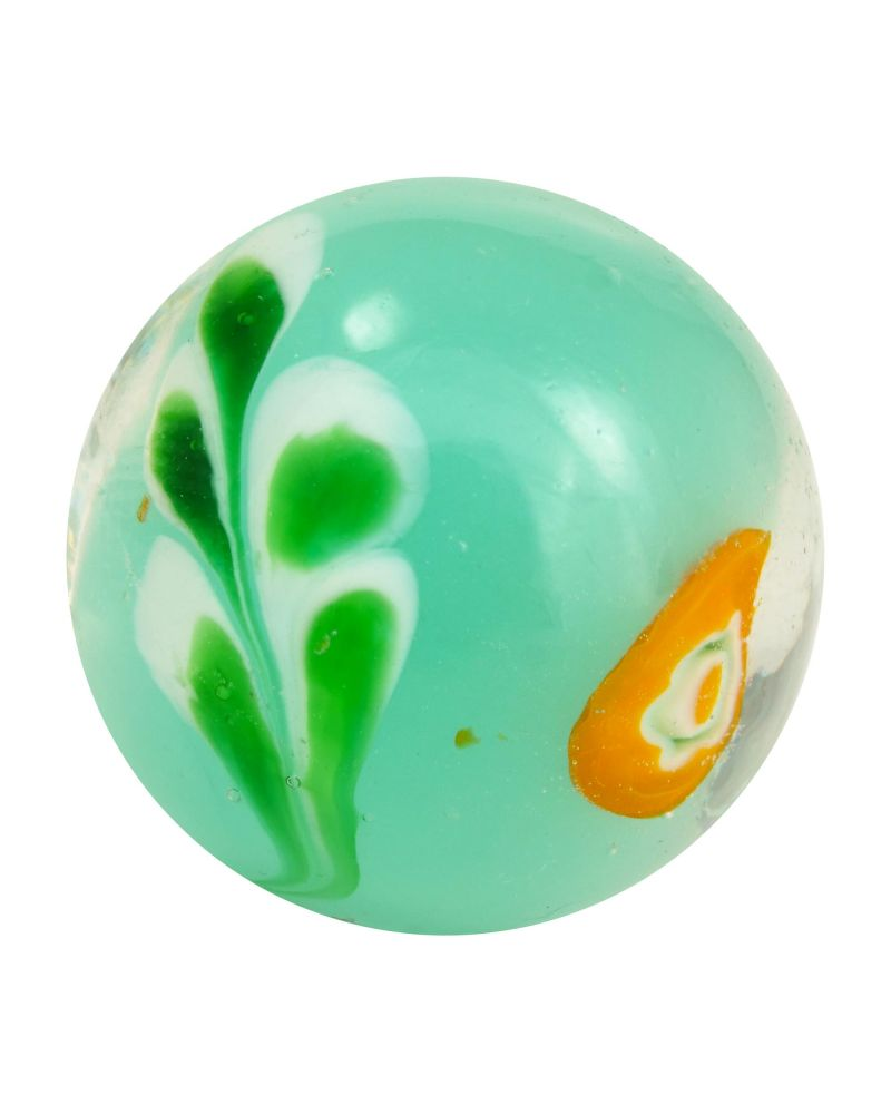 1 Marble Underwater plant - 20 mm glass art marble