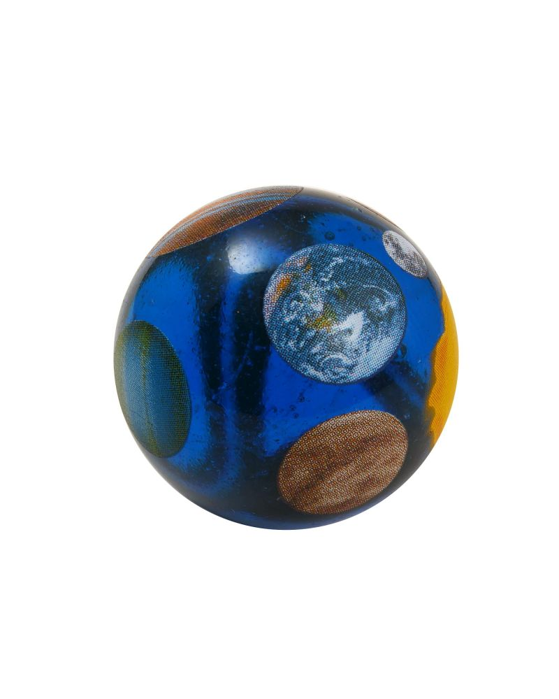 1 Large Marble The planets Glass Marble 35 mm