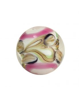 1 Art Marble Pastel Pink Glass Marble 20 mm