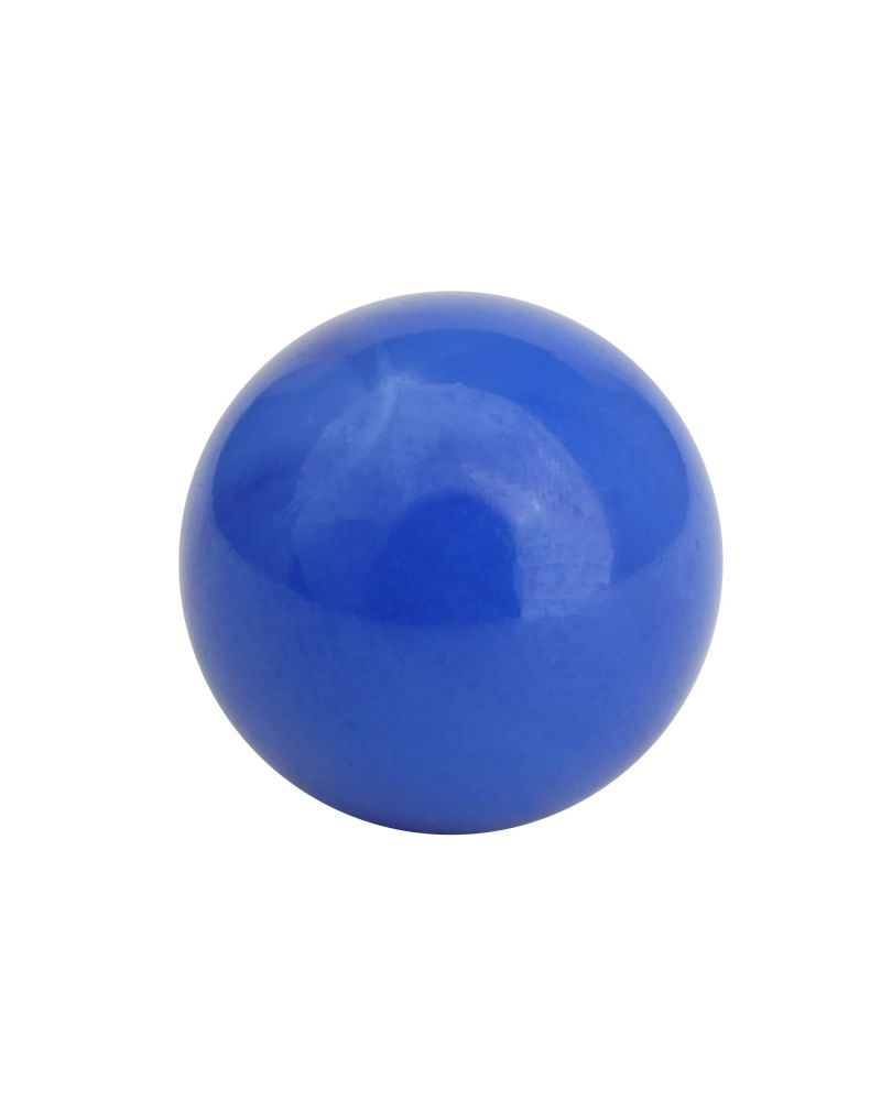 1 Little Marble Pearl Blue 14 mm Glass Marbles