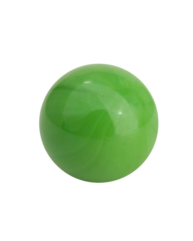 1 Little Marble Pearl Green 14 mm Glass Marbles