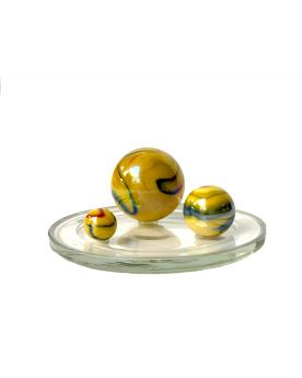 1 Family Glass Marbles Canari - MyGlassMarbles